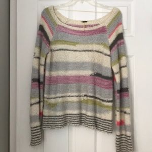Free People stripe sweater.